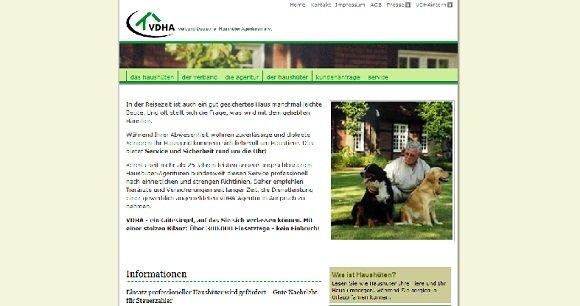 Website Haushueter.org