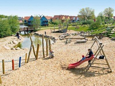 Spielplatz des Dorfhotels Fleesensee
