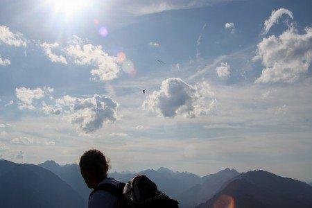 Mit Baby und Rucksack auf über 1700 Meter Höhe