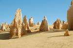 Kalksteinsäulen der Pinnacles, West Australien © Elternzeitreise