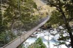 Hängebrücke, Neuseeland © Elternzeitreise