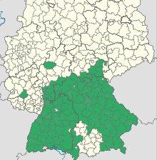 Karte der FSME-Gebiete in Deutschland © Robert-Koch-Institut