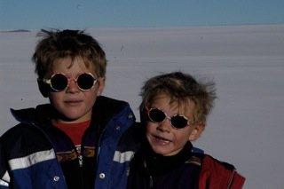 Jonas und Moritz ganz cool © Gradl/Ober