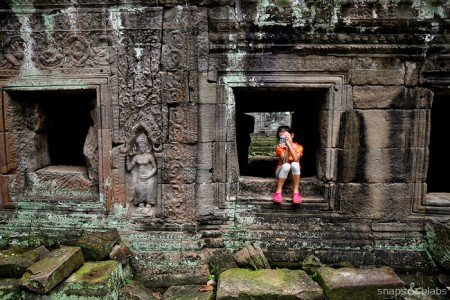 Angkor Wat in Kambodscha © Snaps and Blabs