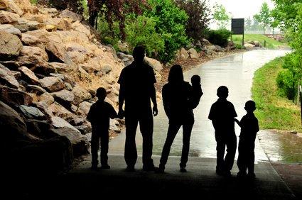 Glücklich ist, wer bei Gewitter einen sicheren Unterstand hat © Fotolia