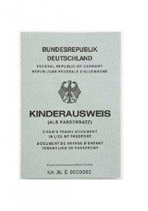 Der alte Kinderausweis, der seit 2006 nicht mehr ausgestellt wird.