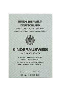 Der alte Kinderausweis, der seit 2006 nicht mehr ausgestellt wird. © BMI