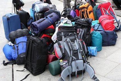 Wo ist unser Rucksack?