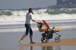 Sand, Wasser, Sonne - das muss ein Reisekinderwagen abkönnen