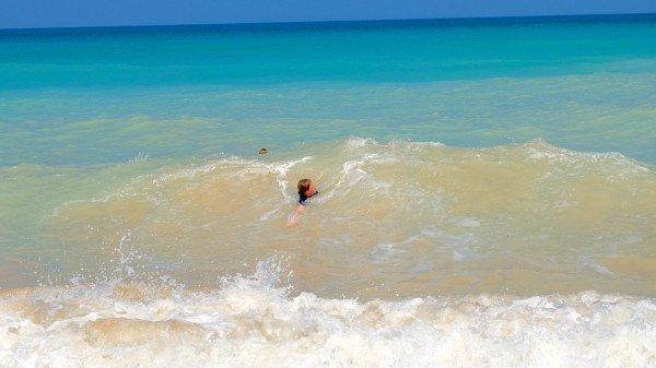 Wellen für die Kinder