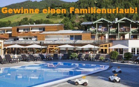 Gewinne einen Urlaub für die ganze Familie im HAGLEITNER Familienhotel!