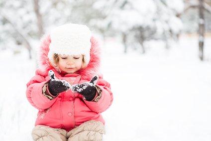 Babys fühlen sich im Skiurlaub selten wohl