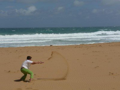 Strand satt - da kriegt kein Kind genug © Margarethe Pfeifer