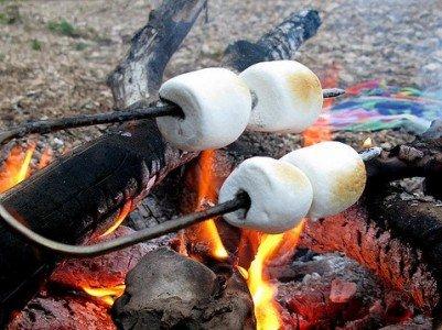 Marshmallows am Lagerfeuer - lecker, günstig und ein Abenteuer!