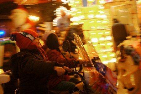 Was wäre ein Weihnachtsmarktbesuch ohne Karussell?