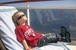 Unser Sohn fand die Sonnenfinsternis absolut spannend © Kerstin