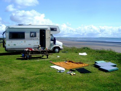 Ferienidyll an der schottischen Küste