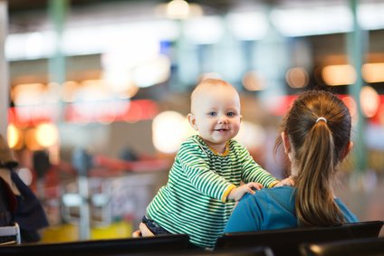 Fliegen mit Babys - gewusst wie!
