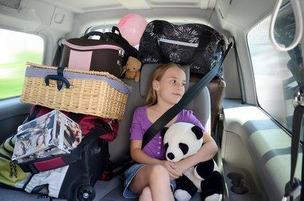 Ein vollgepacktes Auto bedeutet mehr Benzinverbrauch