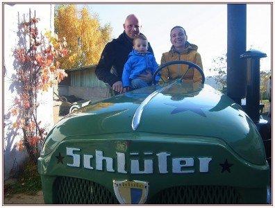 Hoch auf dem grünen Wagen... Familienferien in der Meisenthaler Mühle © Uwe Seidel