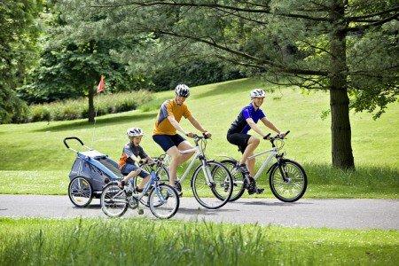 Unterwegs auf dem Rad - eine gute Alternative für Familien!