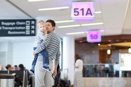 Flugreisen sind schnell und bequem