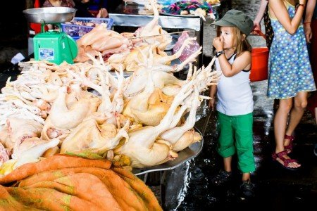 Ih, was ist denn das? Märkte in anderen Ländern sind spannend! © Weltwunderer