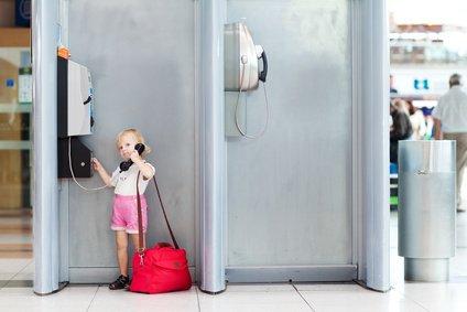 Allein mit Kind unterwegs - das verlangt Selbstständigkeit