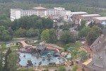 """Das Park-Hotel """"Port Royal"""" und die Attraktion """"ToPiLauLa-Schlacht"""" ab 4 Jahre © reisepapa"""