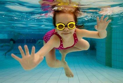 Wer schon schwimmen kann, ist klar im Vorteil