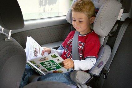 """Kindersitze sind auch für die """"Großen"""" noch wichtig"""