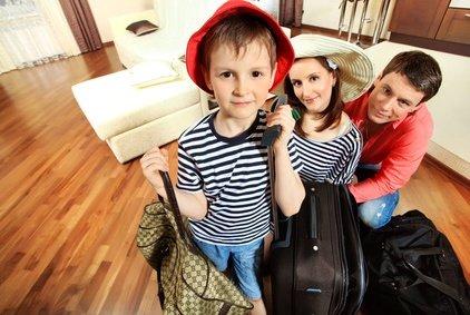 Reisen mit Kindern wollen gut vorbereitet sein