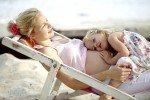 Den heißen Sommer sollten Eltern und Kinder mit viel Ruhe angehen