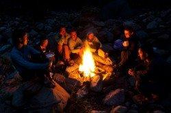 Urlaub mit Lagerfeuer - was gibt es Schöneres?