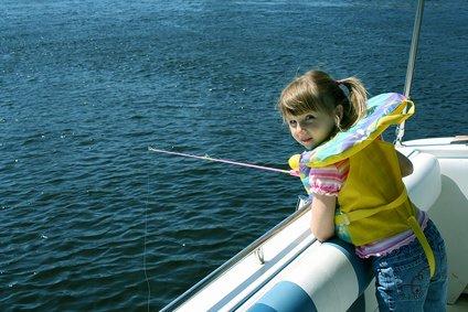 Angeln ist toll - egal, ob nach Fischen oder alten Schuhen