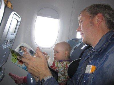 Bordmagazine sind auch für Babys interessant