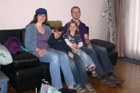 family4travel beim Couchsurfen in Antwerpen
