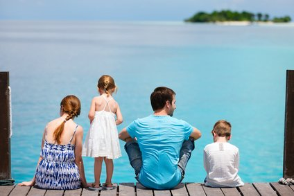 Eine Auszeit mit der Familie - davon träumen viele © BlueOrange-Studio - Fotolia.com