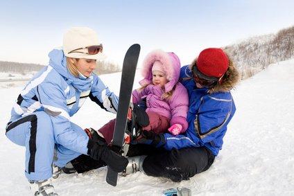 ... und nächstes Mal geht's schon auf die Ski! © pressmaster - Fotolia.com