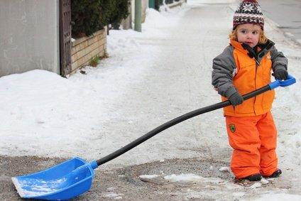 Im Winter ist oft mit dem Kinderwagen kein Durchkommen ... © lagom - Fotolia.com