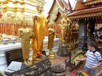 Fremde Kulturen kennenlernen in Chiang Mai/Thailand © Cristina