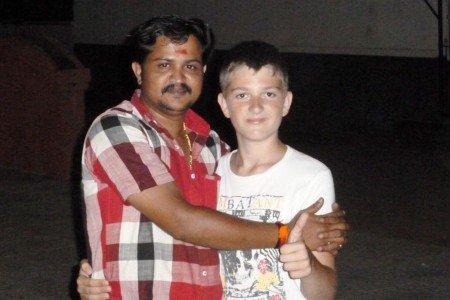 Völkerverständigung in Kerala: echte Freunde