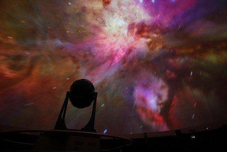 Das Planetarium in Jena ist einen Besuch mit Kindern wert