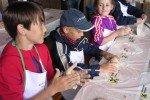 Brotbacken in der Kinderbetreuung © Familienhotel Botenwirt