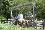 Hier können die Kleinen auf den Ponys reiten © Familienhotel Sonnwies