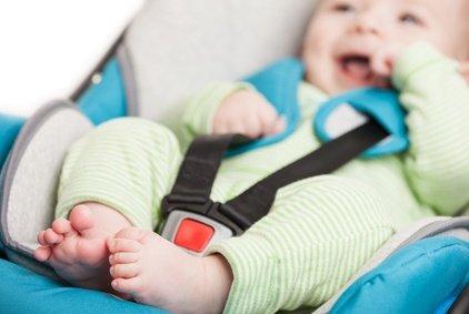 Babyschalen stellen nur die wenigsten Taxen zur Verfügung