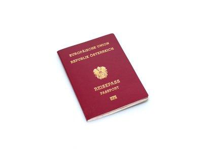 Auch Babys brauchen ein eigenes Reisedokument.