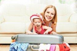 Koffer packen ohne Stress