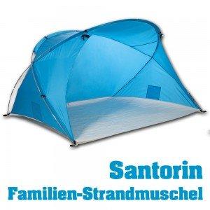 Strandmuschel Santorin - mit viel Platz für die ganze Familie