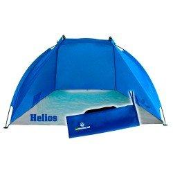 Die Reise Strandmuschel Helios für optimalen Sonnenschutz unterwegs